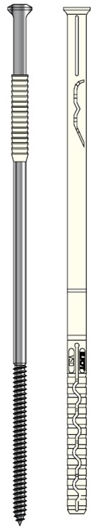 Ejot Verblend-Sanier-Dübel VSD für zweischaliges Mauerwerk - Edelstahl A4